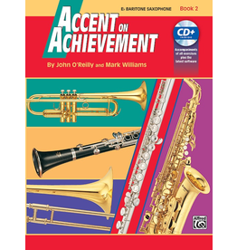 Alfred Accent on Achievement Book 2 for Bari Sax