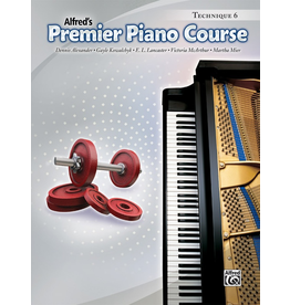 Alfred Alfred's Premier Piano Course Technique 6