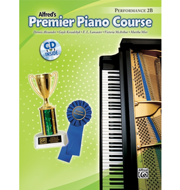 Alfred Alfred's Premier Piano Course Performance Book 2B CD Included