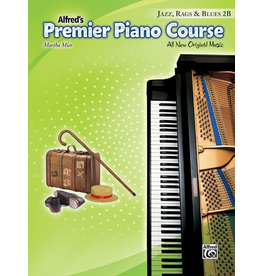 Alfred Alfred's Premier PIano Course Jazz, Rags, and Blues 2B