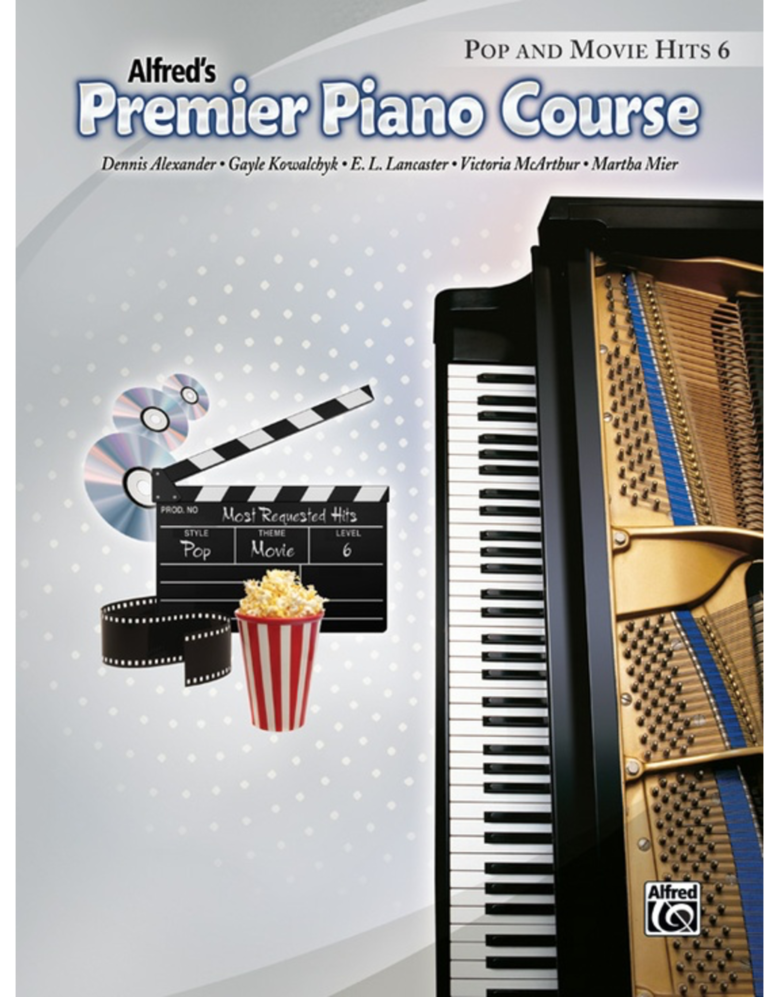 Alfred Premier Piano Course Pop and Movie Hits Book 6
