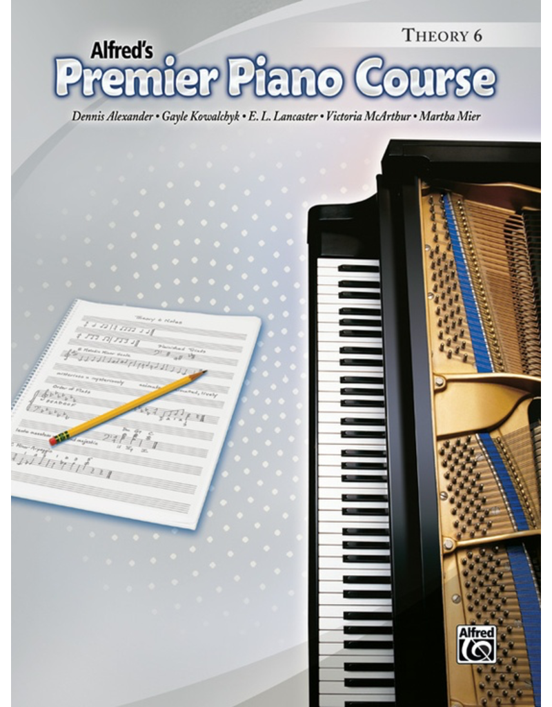 Alfred Alfred's Premier Piano Course Theory Book 6