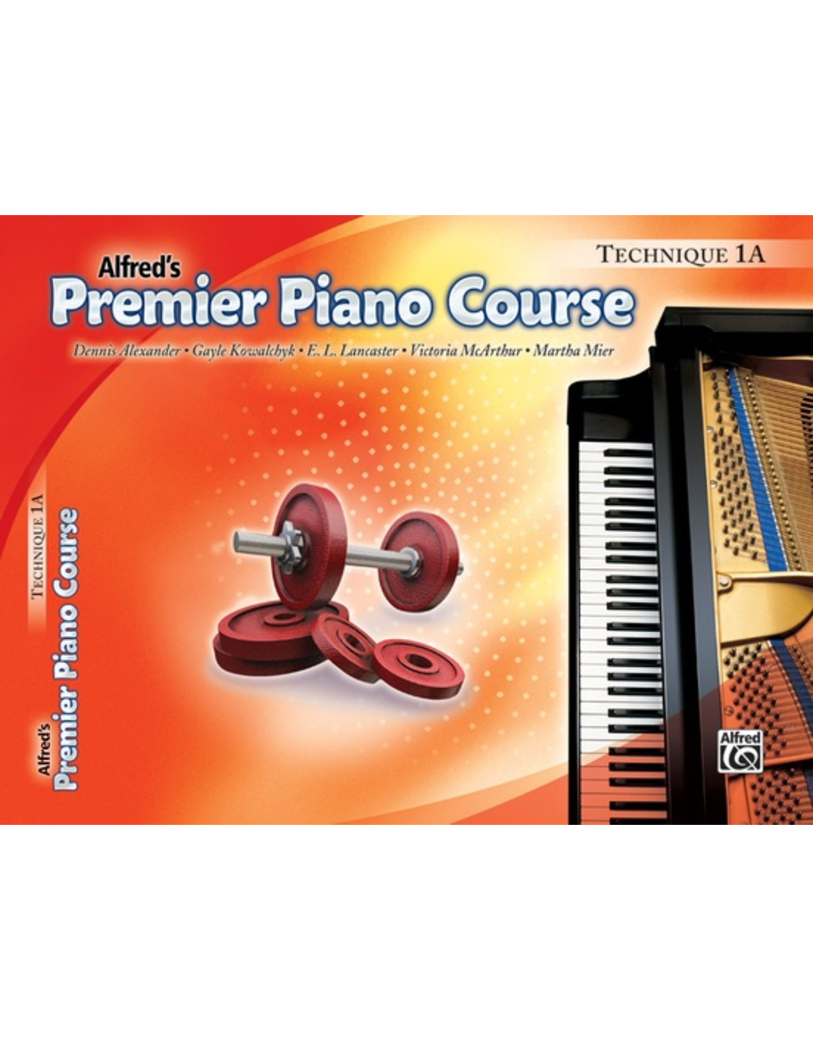 Alfred Alfred's Premier Piano Course Technique Book 1A