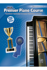 Alfred Alfred's Premier Piano Course Performance Book Level 5 CD Included