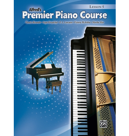 Alfred Alfred's Premier Piano Course Lesson Book Level 5