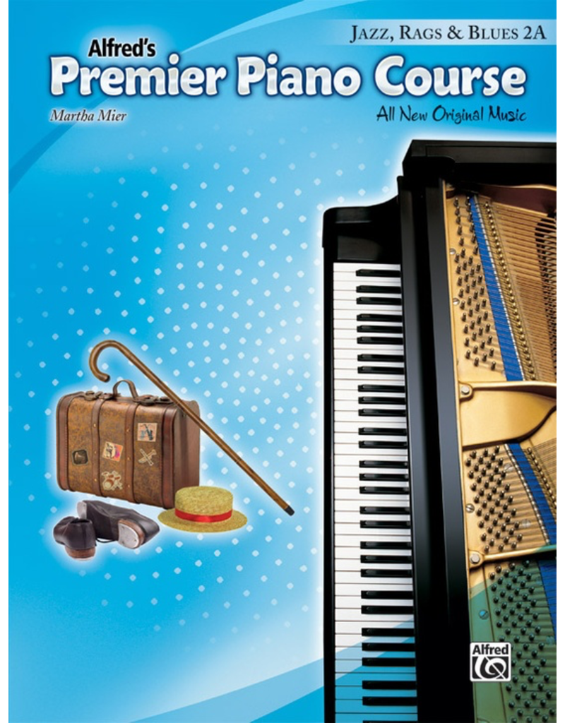 Alfred Alfred's Premier Piano Course Jazz, Rags and Blues, Book 2A