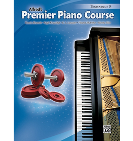 Alfred Alfred's Premier Piano Course Technique Book 5