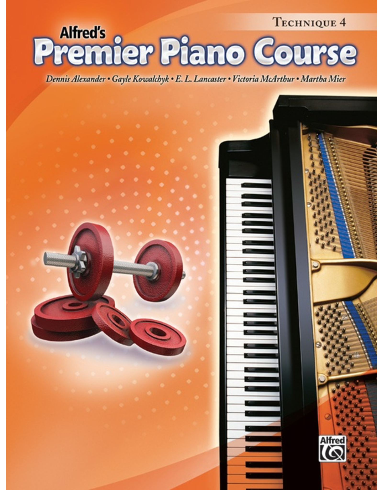 Alfred Alfred's Premier Piano Course Technique Book 4