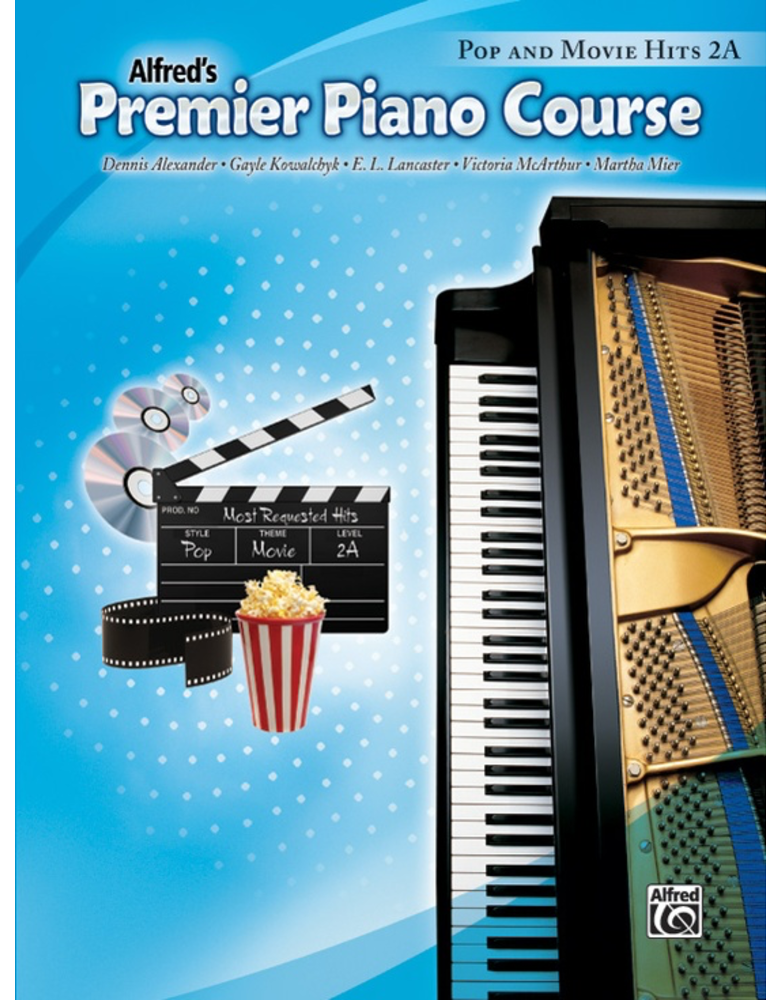 Alfred Alfred's Premier Piano Course Pop and Movie Hits 2A