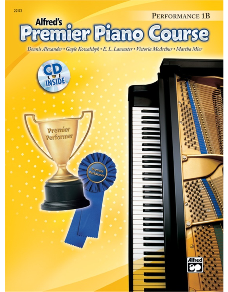 Alfred Alfred's Premier Piano Course, Performance Book 1B CD Included