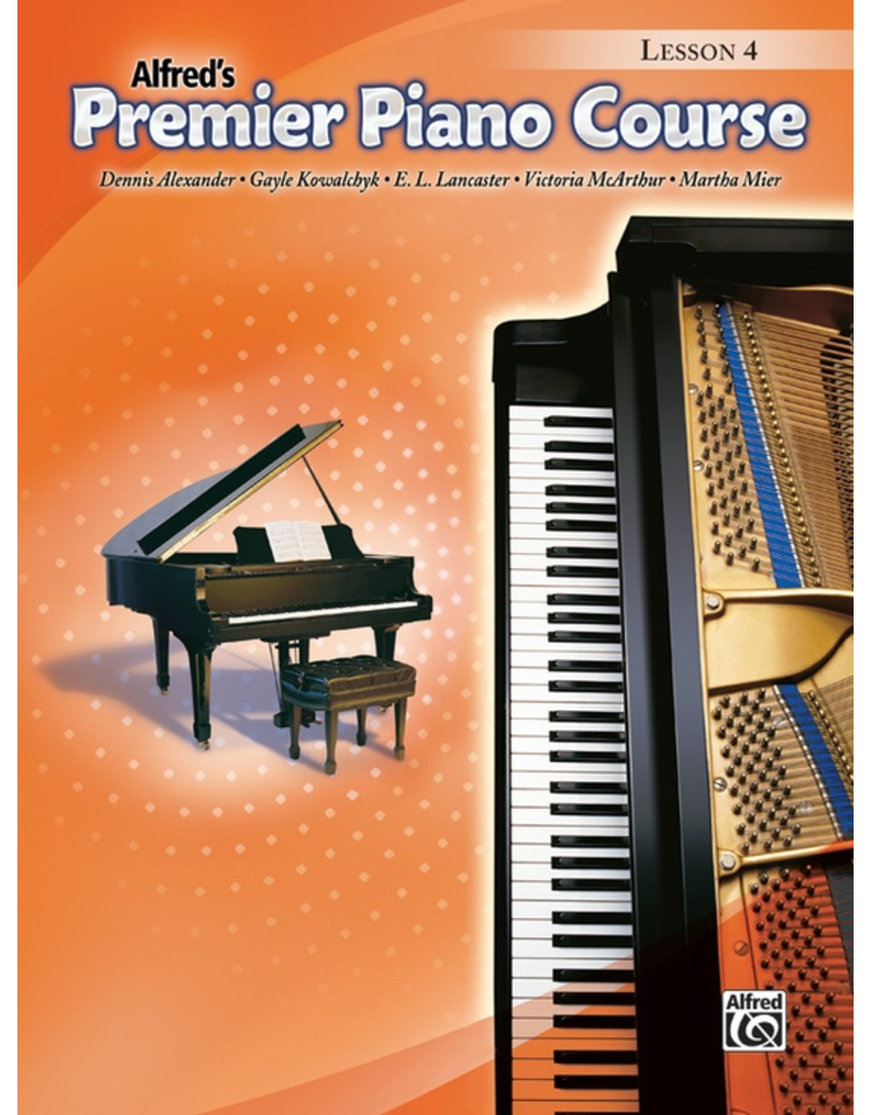 Alfred Alfred's Premier Piano Course Lesson Book 4