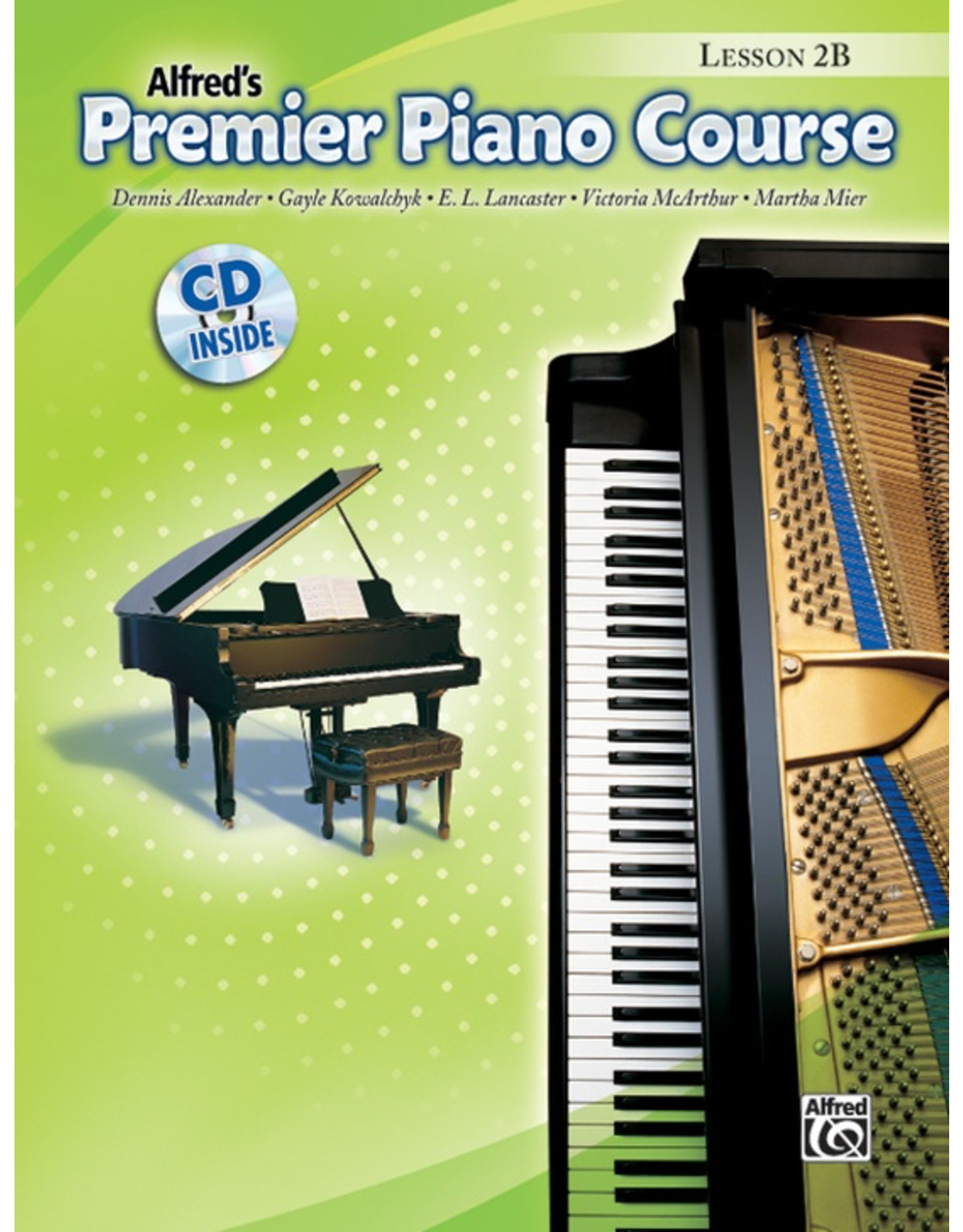 Alfred Alfred's Premier Piano Course Lesson Book 2B CD Included