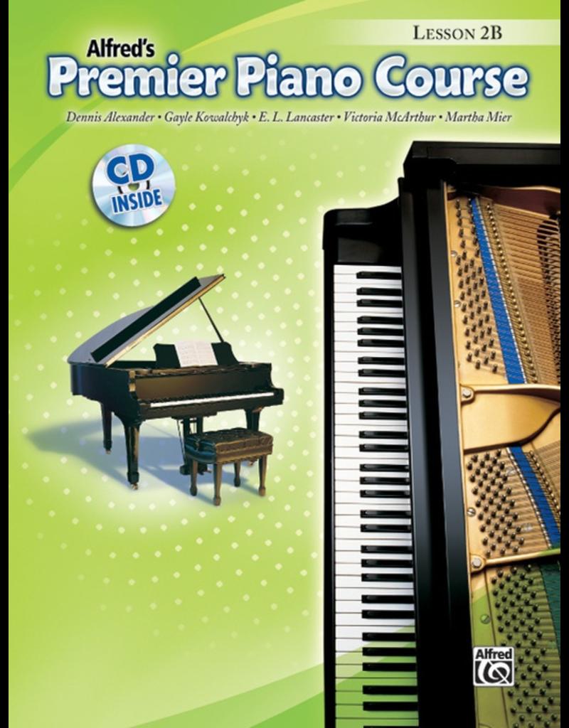 Alfred Alfred's Premier Piano Course Lesson Book 2B CD Included