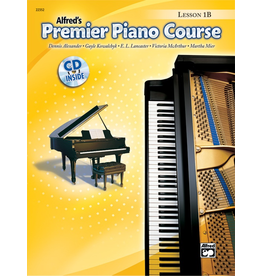 Alfred Alfred's Premier Piano Course Lesson Book 1B CD Included
