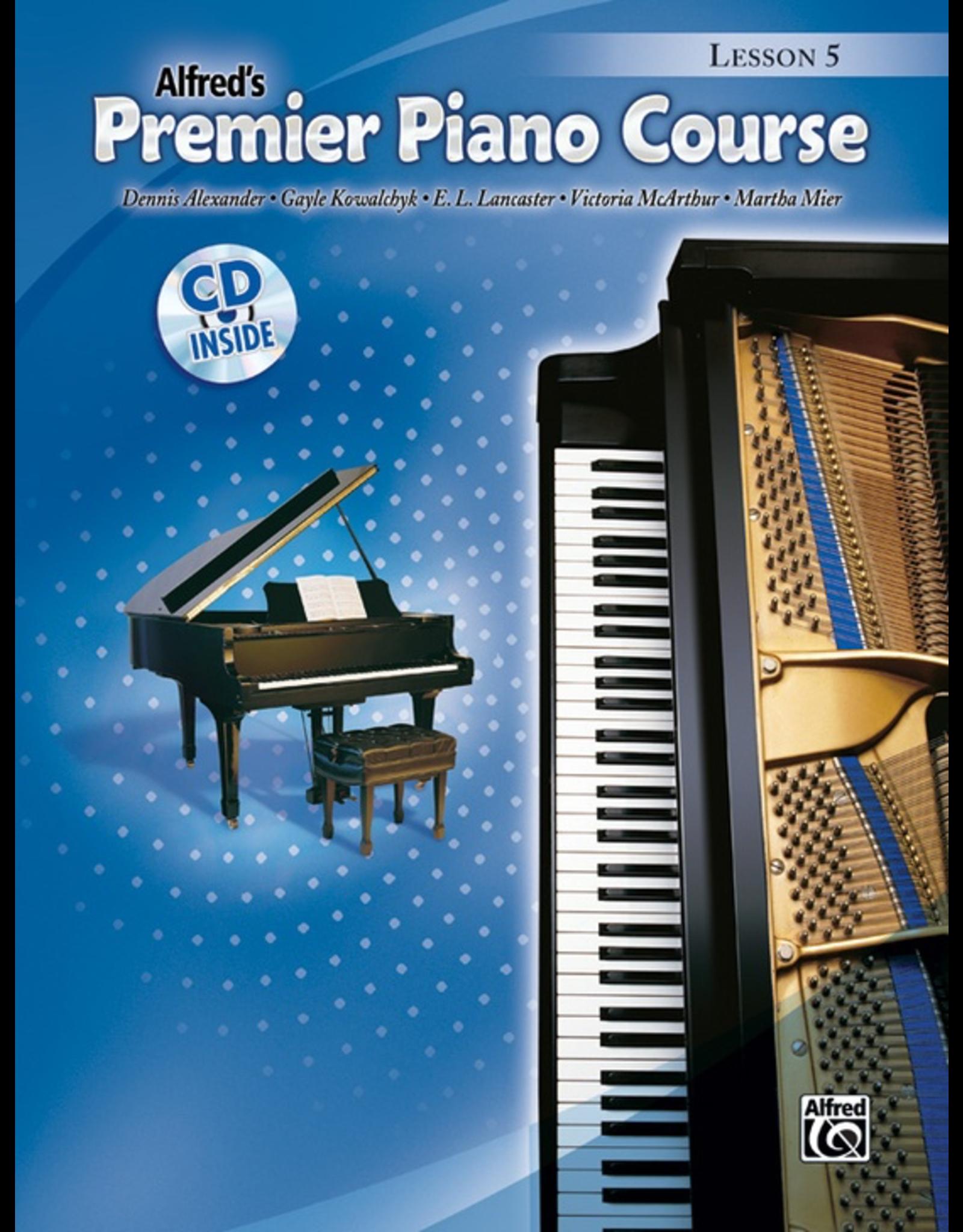 Alfred Premier Piano Course Lesson Book Book 5 CD Included