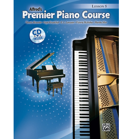 Alfred Premier Piano Course Lesson Book Book 5 CD Included
