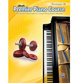 Alfred Alfred's Premier Piano Course Technique Book 1B