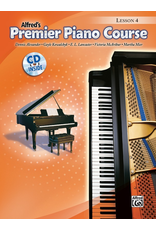 Alfred Alfred's Premier Piano Course Lesson Book 4 CD Included