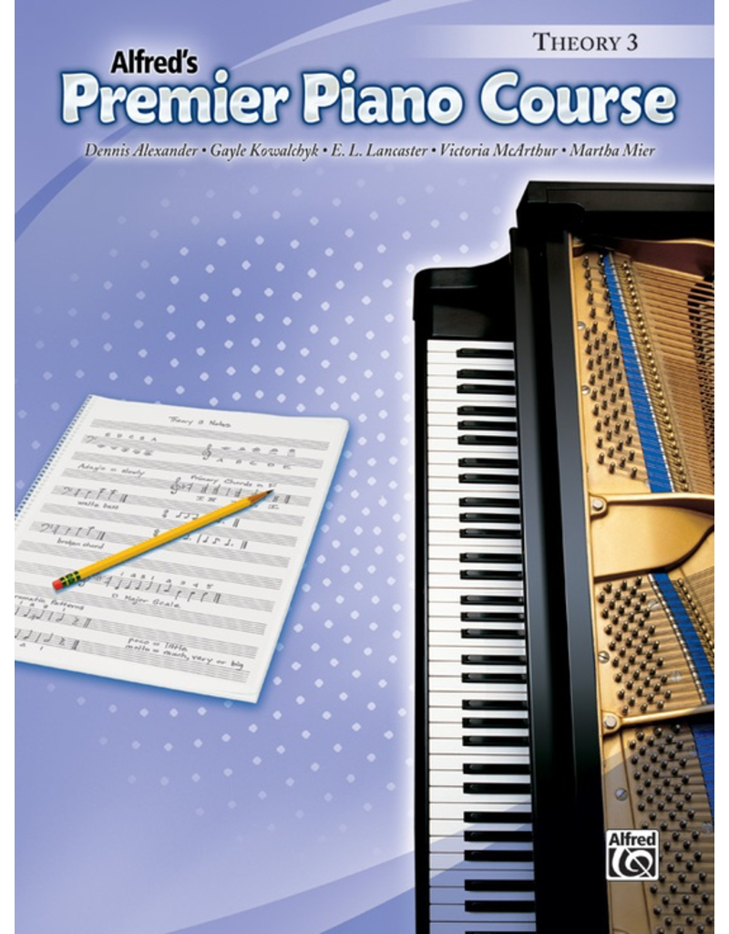 Alfred Alfred's Premier Course Theory Book 3