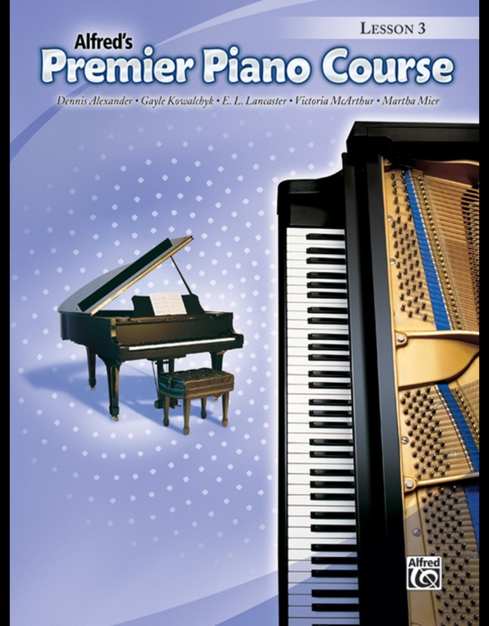 Alfred Alfred's Premier Course Lesson Book 3
