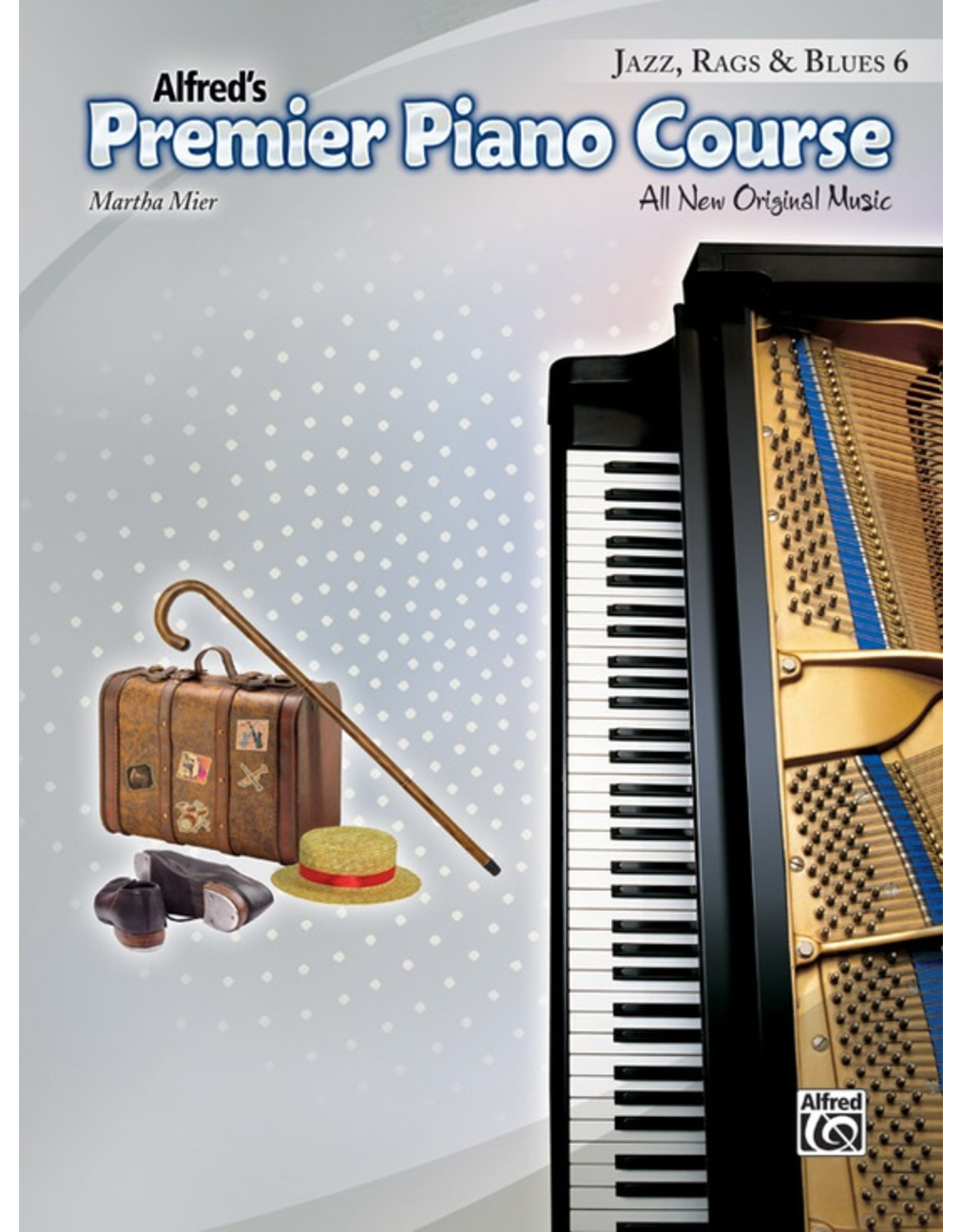 Alfred Alfred's Premier Piano Course Jazz Rags and Blues Book 6