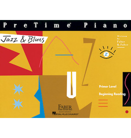 Hal Leonard PreTime Piano Jazz & Blues Primer Level