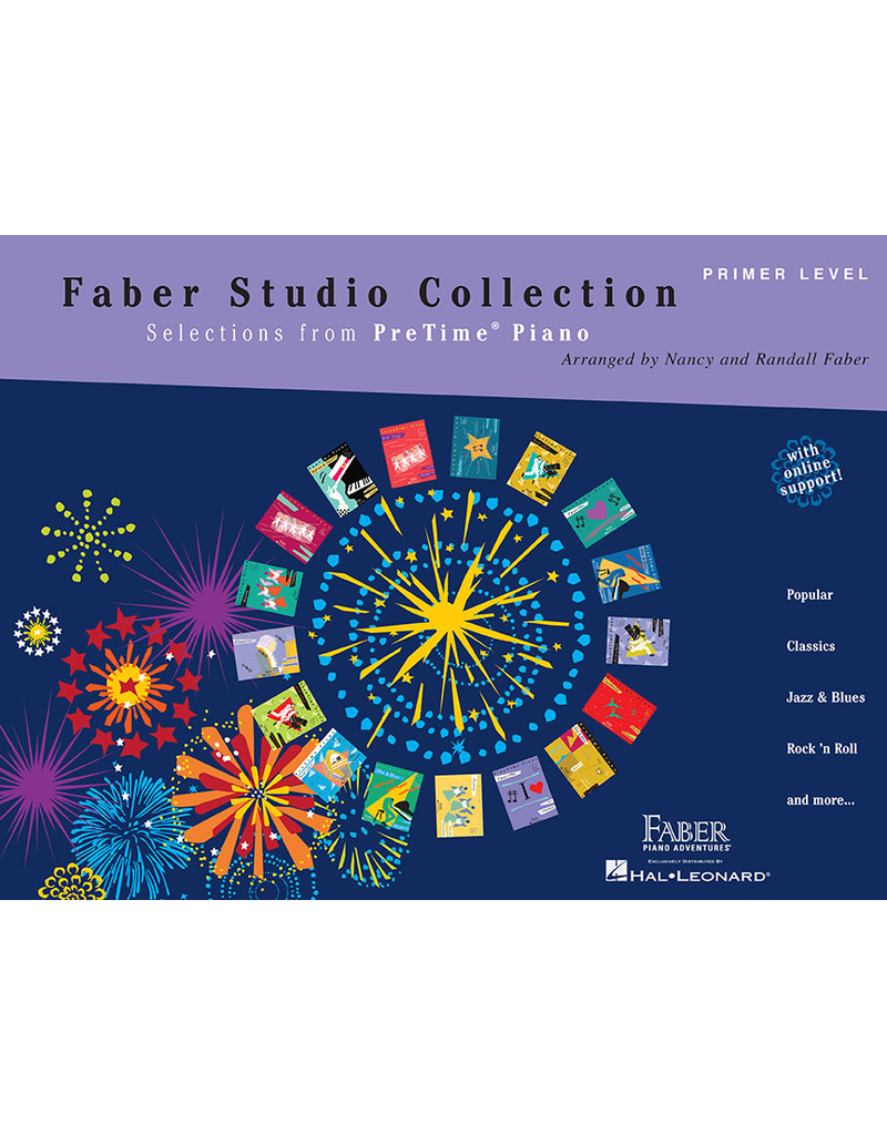 Hal Leonard Faber Studio Collection Selections from PreTime Piano Primer Level