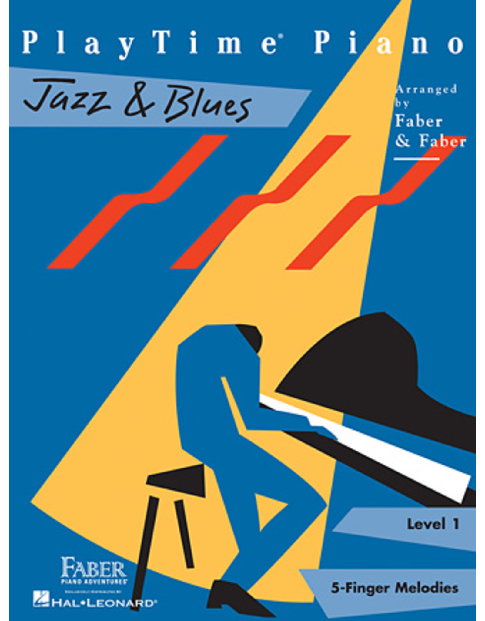 Hal Leonard PlayTime Piano Jazz & Blues Level 1