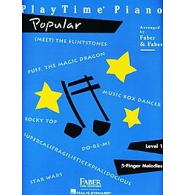 Hal Leonard Playtime Piano Popular Level 1