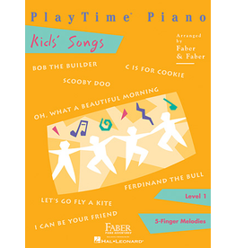 Hal Leonard Playtime Piano Kid's Songs Level 1