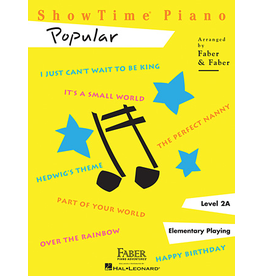 Hal Leonard ShowTime Piano Popular Level 2A