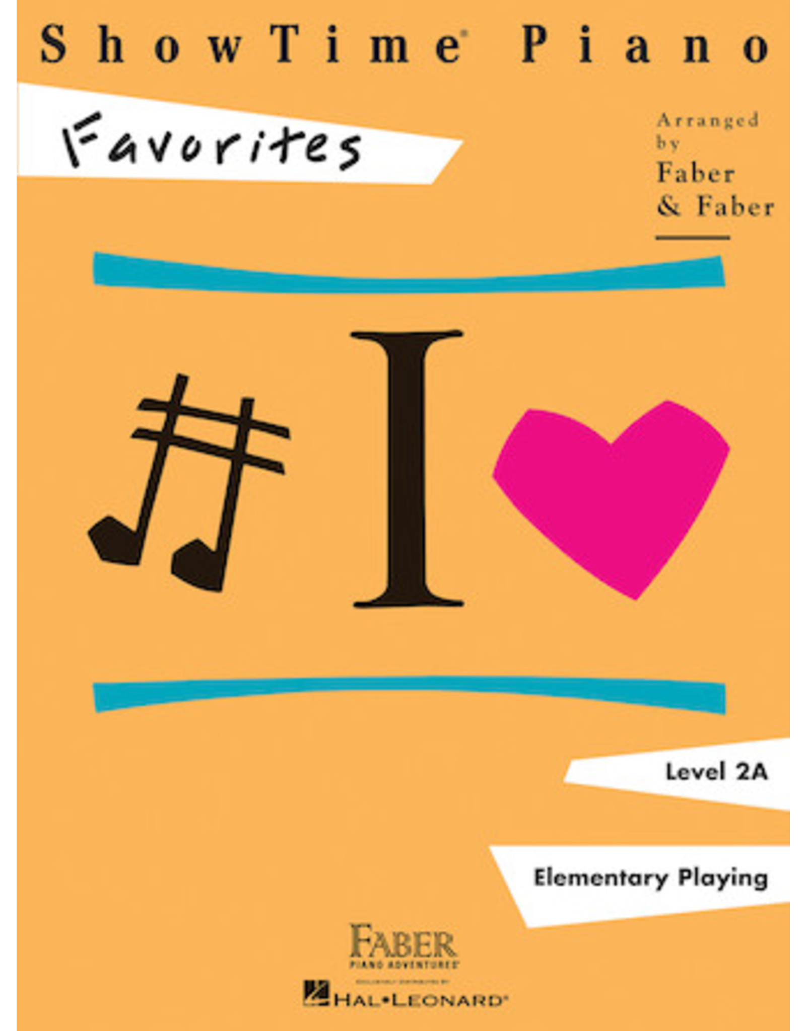 Hal Leonard ShowTime Piano Favorites Level 2A