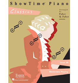 Hal Leonard ShowTime Piano Classics Level 2A