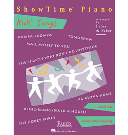 Hal Leonard ShowTime Piano Kids' Songs Level 2A