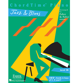 Hal Leonard ChordTime Piano Jazz & Blues Level 2B