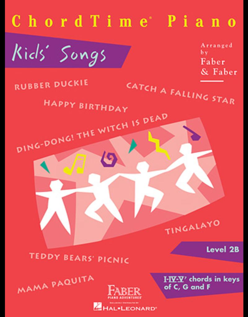 Hal Leonard ChordTime Piano Kid's Songs Level 2B