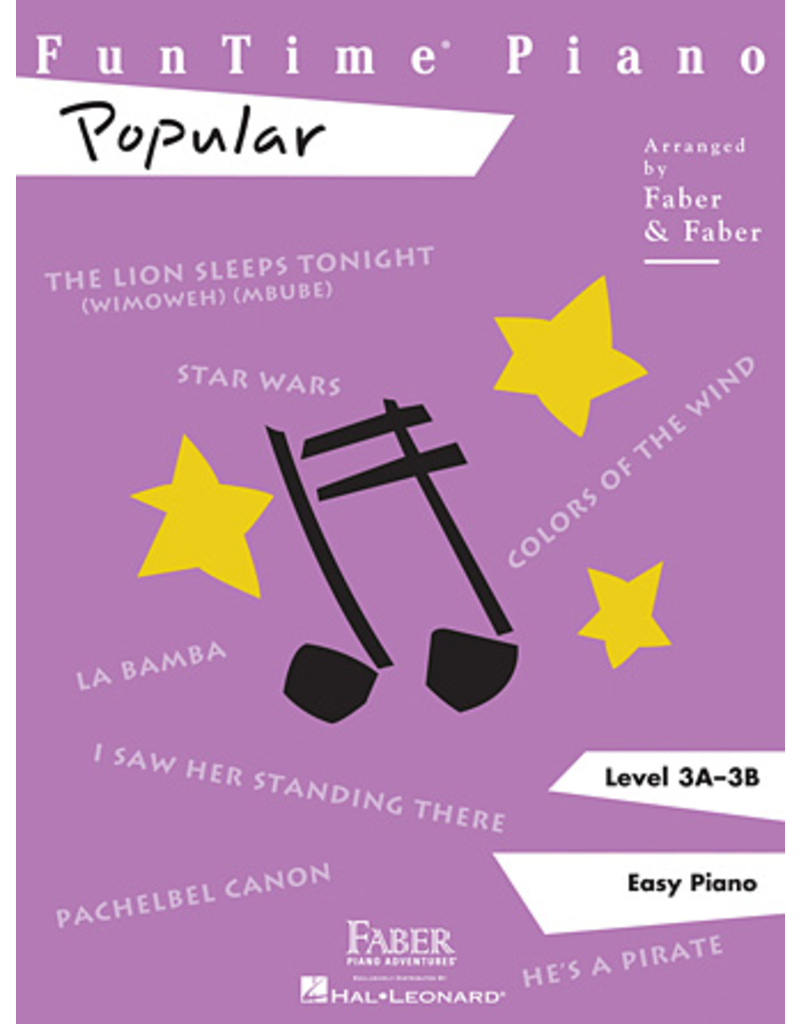 Hal Leonard Funtime Piano Popular Level 3A-3B