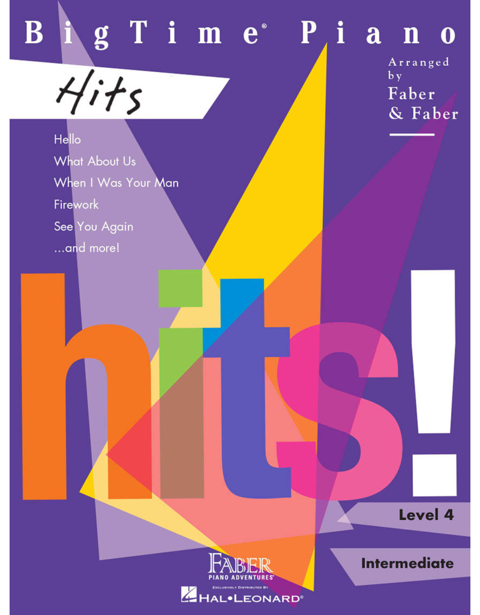 Hal Leonard BigTime Piano Hits Level 4