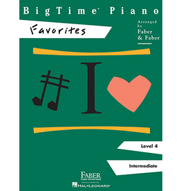 Hal Leonard BigTime Piano Favorites, Level 4