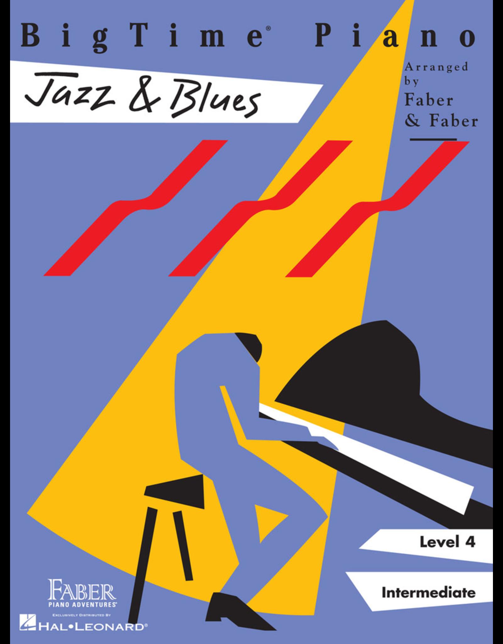 Hal Leonard BigTime Piano Jazz & Blues, Level 4