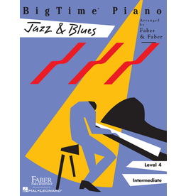 Hal Leonard BigTime Piano Jazz & Blues, Level 4