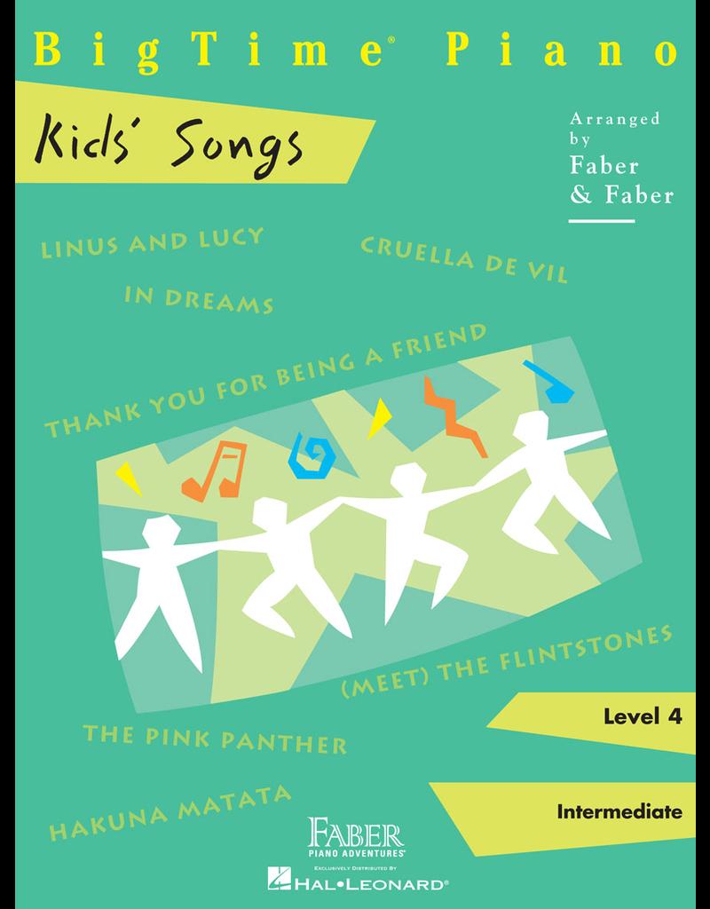 Hal Leonard BigTime Piano Kid's Songs - Level 4