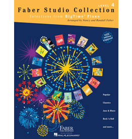 Hal Leonard Faber Studio Collection Selections from BigTime Piano Level 4