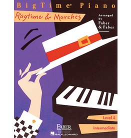 Hal Leonard BigTime Piano Ragtime & Marches, Level 4
