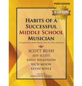 GIA Publications Habits of a Successful Middle School Musician - Percussion