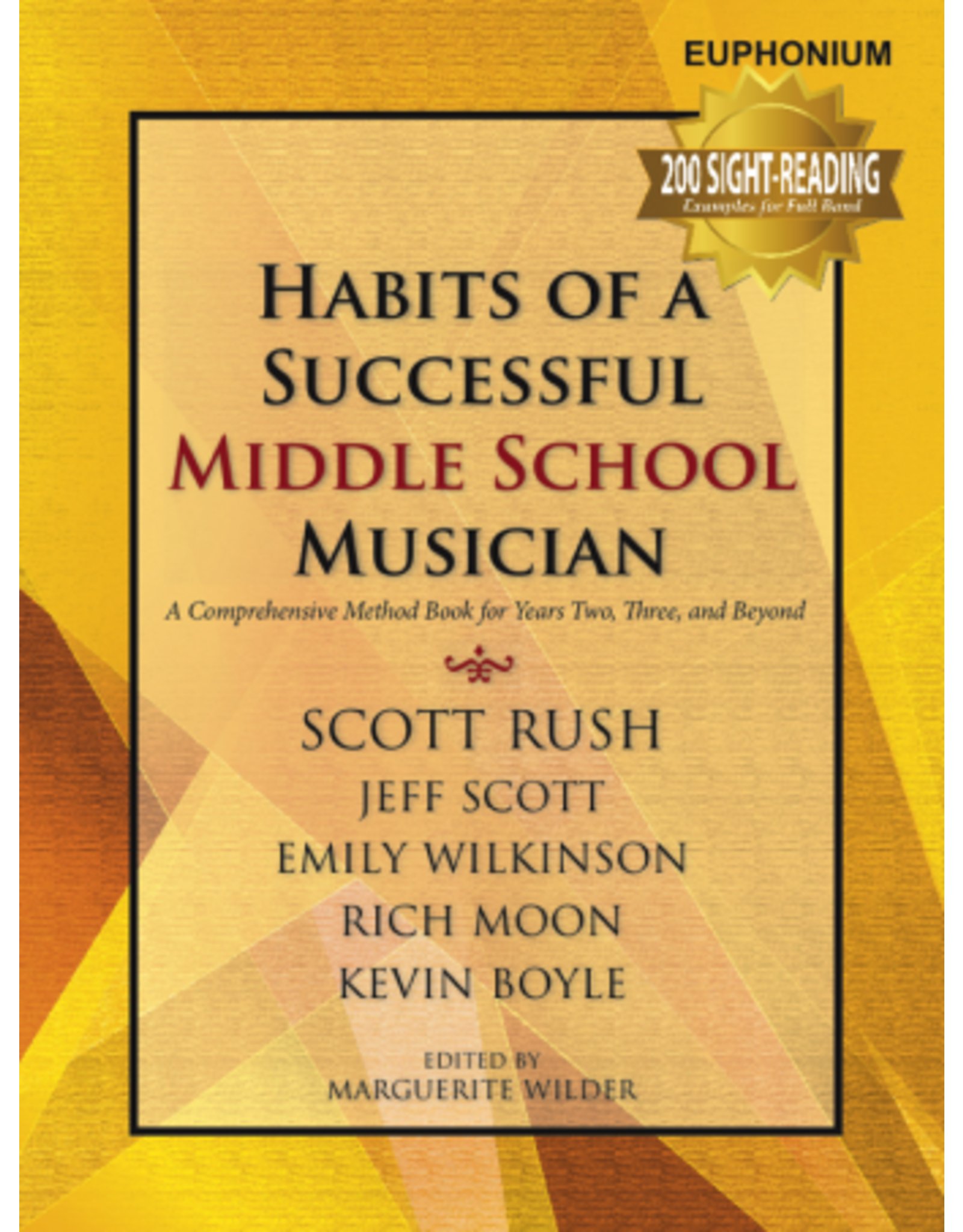 GIA Publications Habits of a Successful Middle School Musician-Euphonium