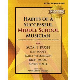 GIA Publications Habits of a Successful Middle School Musician - Alto Saxophone