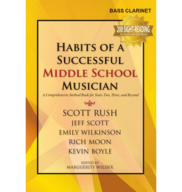 GIA Publications Habits of a Successful Middle School Musician - Bass Clarinet