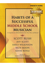 GIA Publications Habits of a Successful Middle School Musician - French Horn