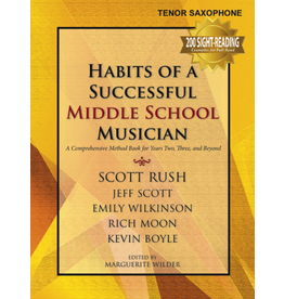 GIA Publications Habits of a Successful Middle School Musician - Tenor Saxophone